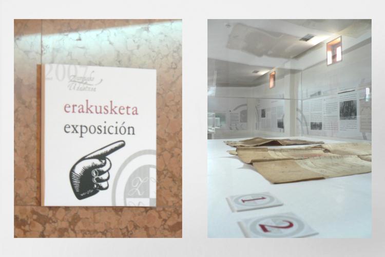 Exposición - Señaletica