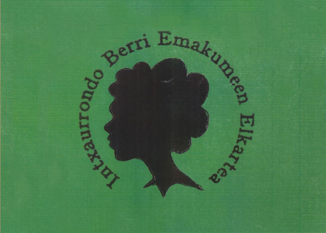 Actualización del logotipo de Intxaurrondo Berri Asociación de mujeres