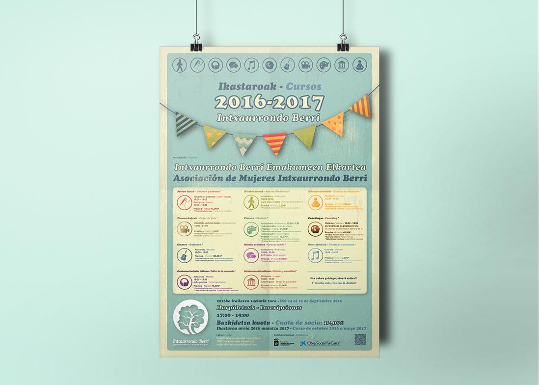 Poster - Cartel . Diseño , maquetación e impresión.