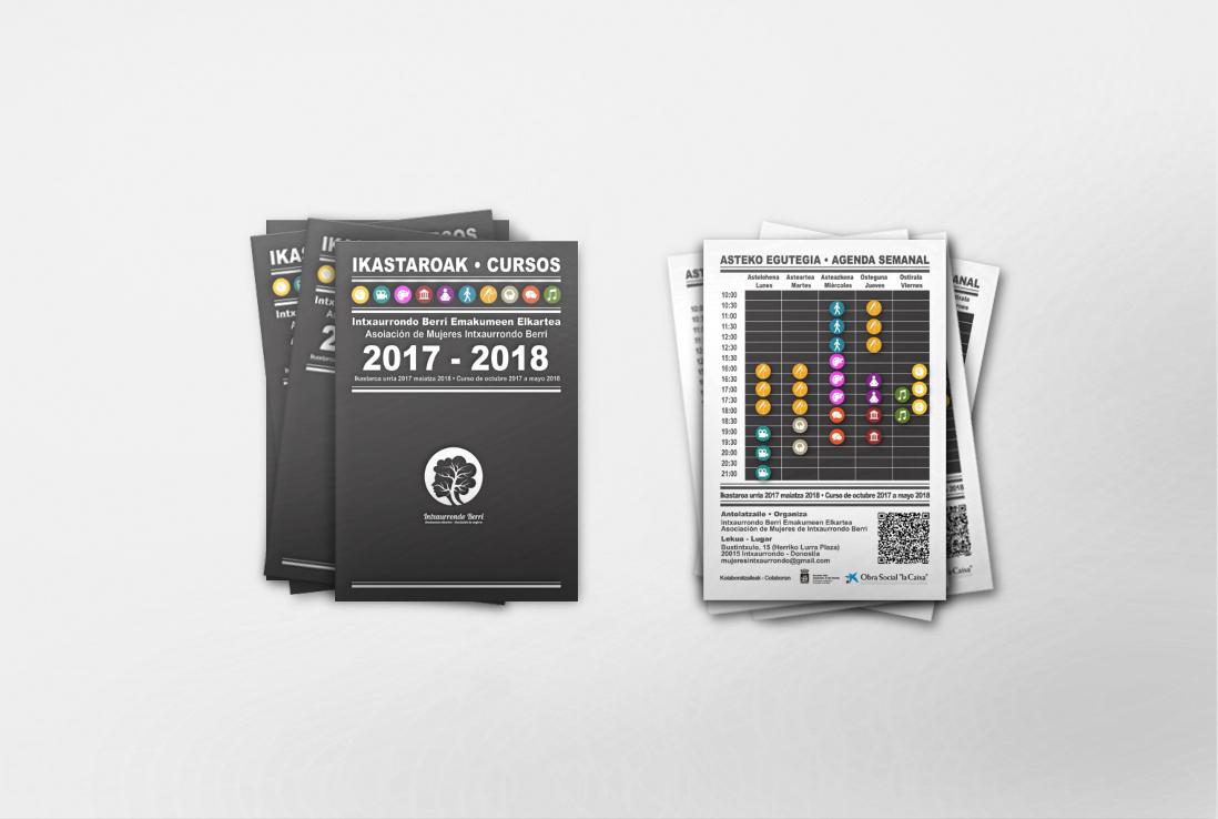 Díptico- FLyer . Diseño , maquetación e impresión.
