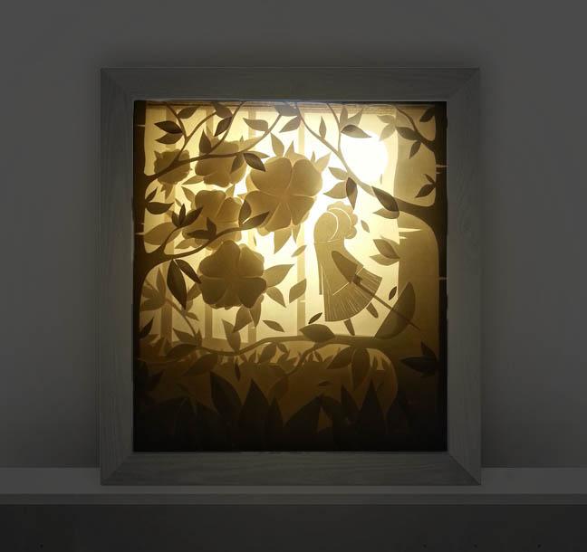 Caja de luz - Shadowbox